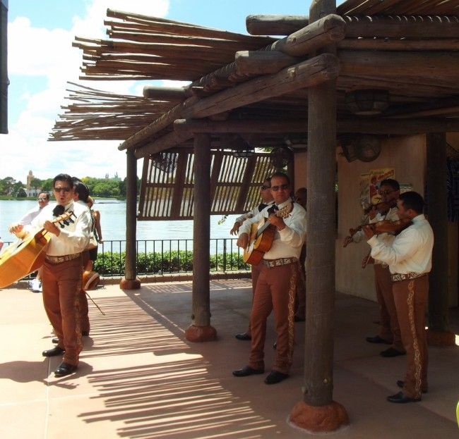 Mariachi band Margarita stand in the Mexico Pavilion at Epcot-Picture by Lisa McBride