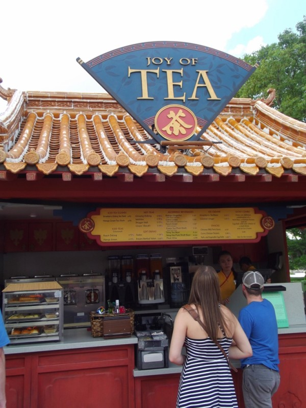 Joy of Tea Stand-China Paviilon at Epcot-Picture by Lisa McBride