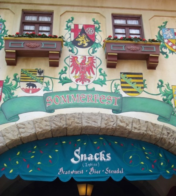 Sommerfest in the Germany Pavilion at Epcot-Picture by Lisa McBride