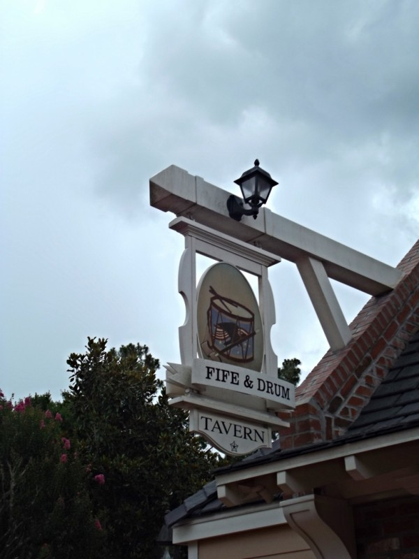 Fife & Drum in the American Adventure Pavilion at Epcot-Picture by Lisa McBride