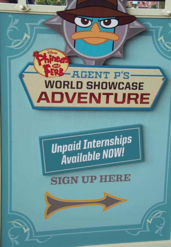 Agent P World Showcase Adventure at Epcot-Picture by Lisa McBride