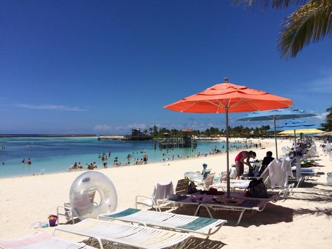Castaway Cay - Family Beach 1