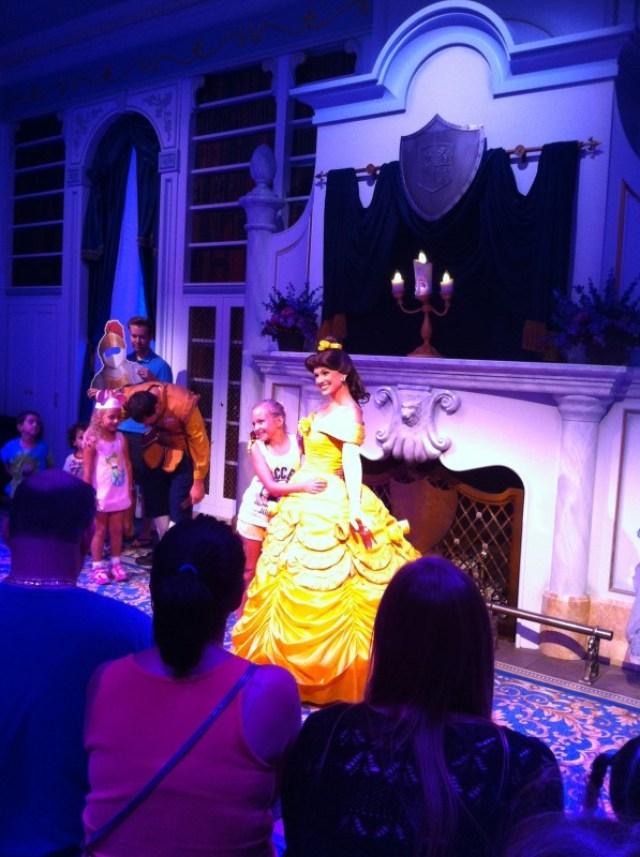Greeting Belle