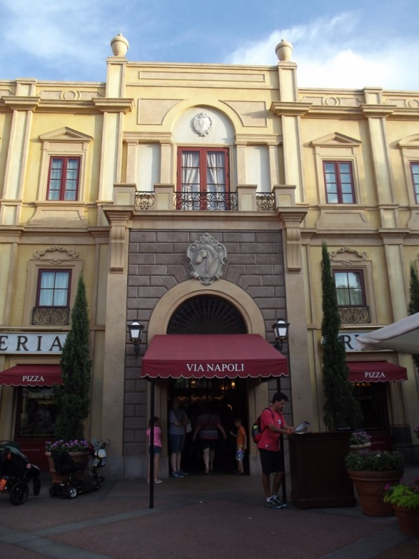 Via Napoli in Italy Pavilion at Epcot-Picture by Lisa McBride