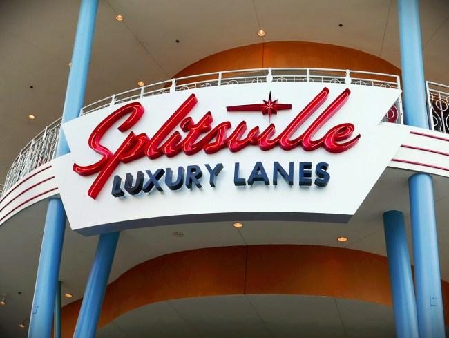 Splitsville Sign