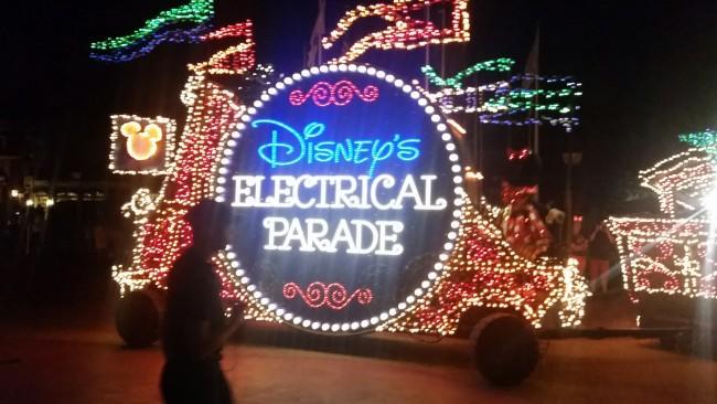 Disney's Electrical Parade at Magic Kingdom Park