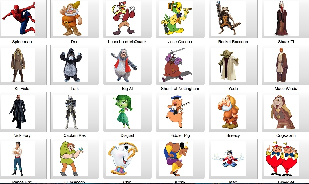 Disney Namensliste