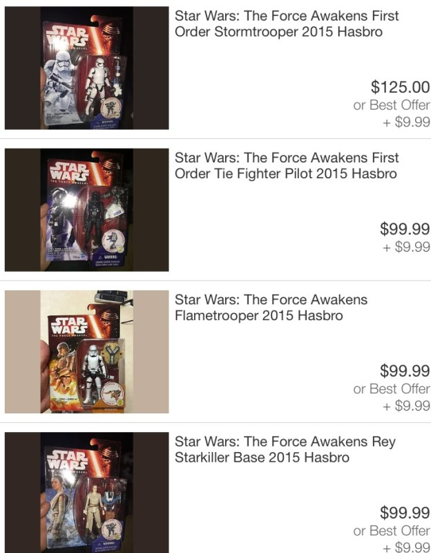 "Leaked ""Star Wars: The Force Awakens"" merchandise found on ebay"