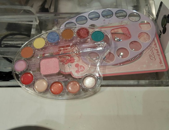 The personalized makeup palate