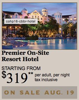 Premier On-Site Resort Hotel starts at $319 at Universal Orlando Resort