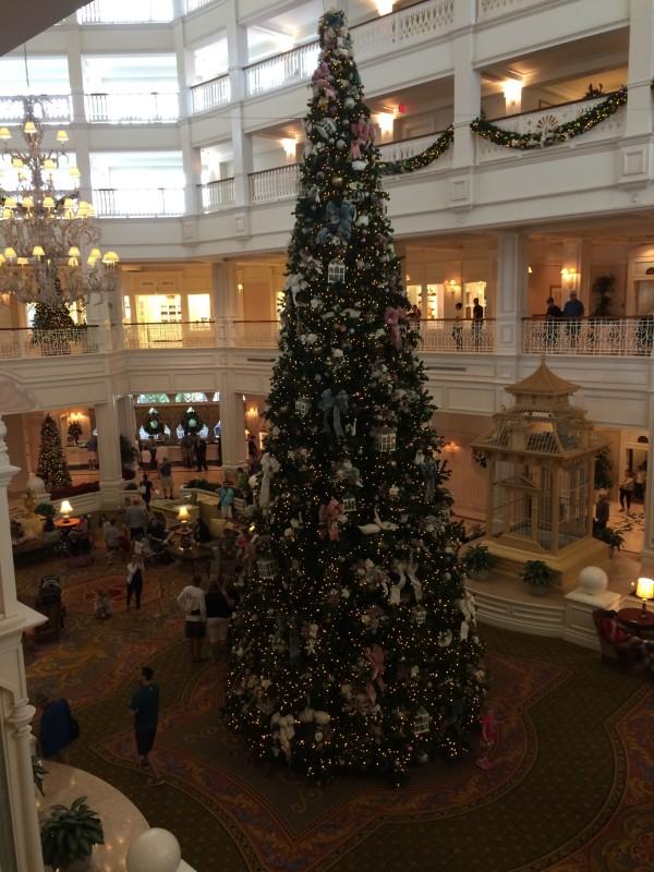 Grand Floridian Resort & Spa Christmas tree