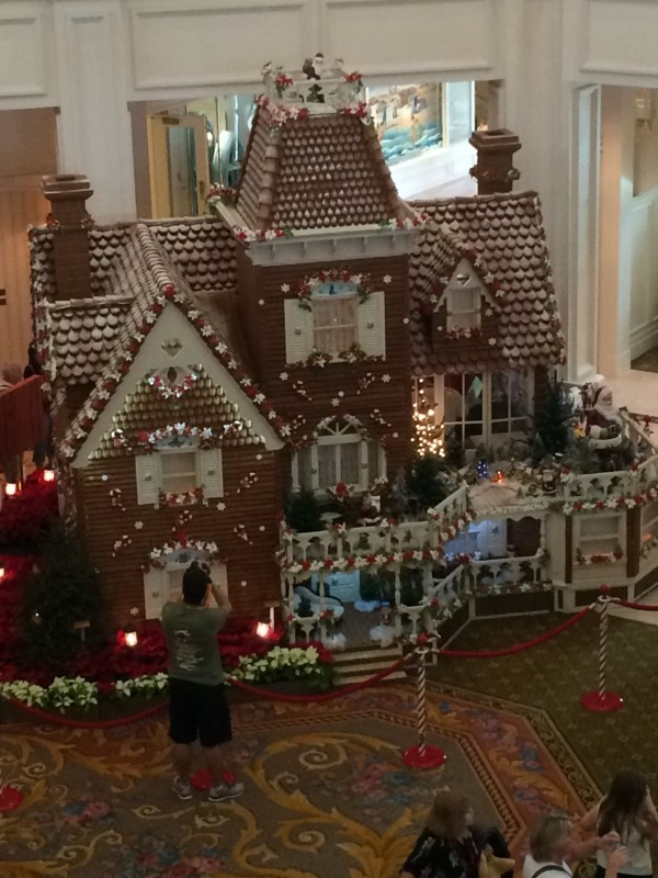 Grand Floridian Resort & Spa gingerbread house