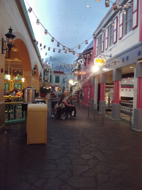 Old Port Royale at Disney's Caribbean Beach Resort-Picture by Lisa McBride