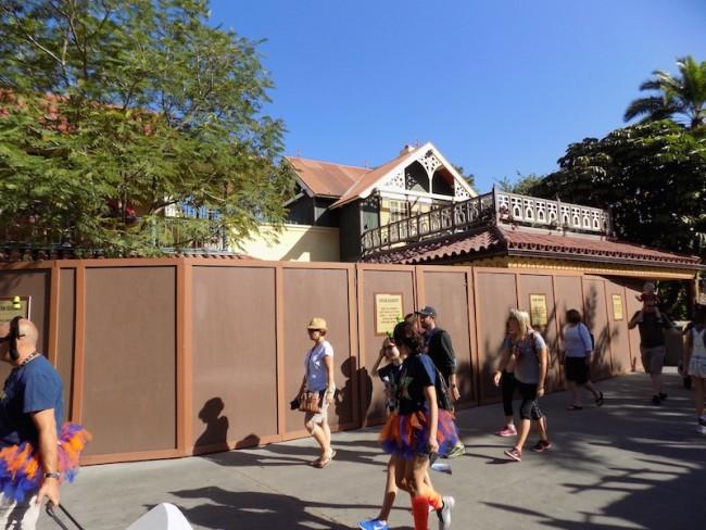 Magic Kingdom, Jungle Cruise Restaurant Construction