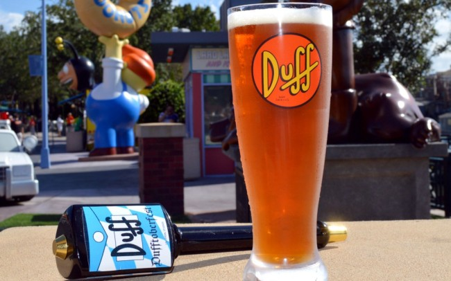 Dufftoberfest Brew-Photo Credit The official blog of Universal Orlando Resort