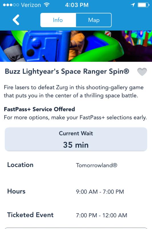 Buzz Lightyears Space Ranger Spin screenshot