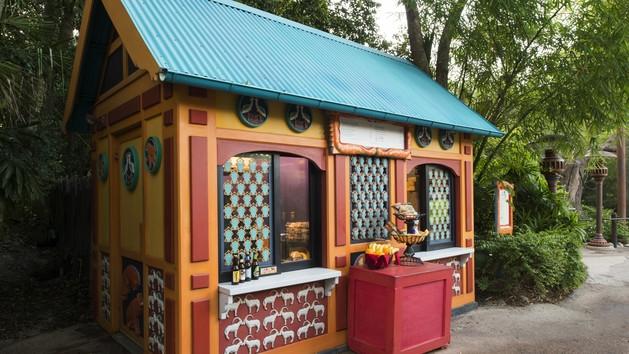 Discovery Island Kiosk-Photo Credit Disney