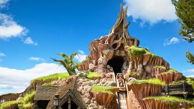 Splash Mountain--Photo by Disney