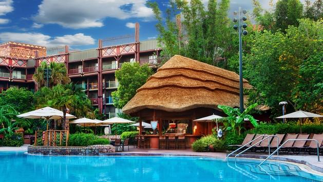 Uzima Springs Pool Bar-Photo Credit Disney
