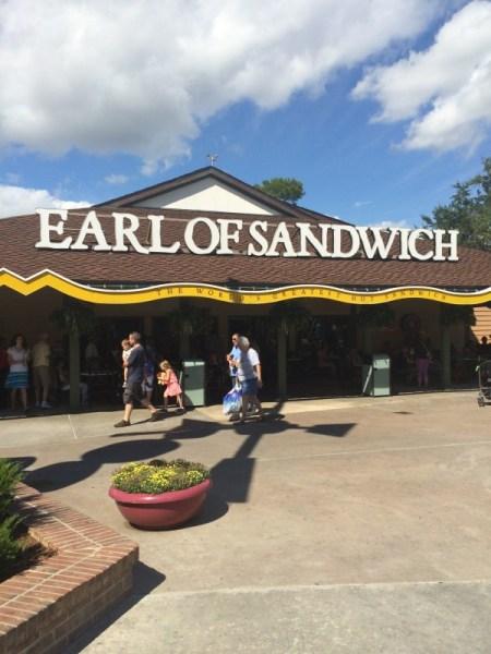 Earl of Sandwich at Disney Springs