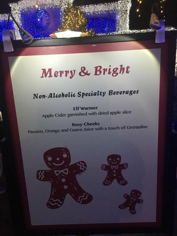 Merry & Bright non-alcoholic