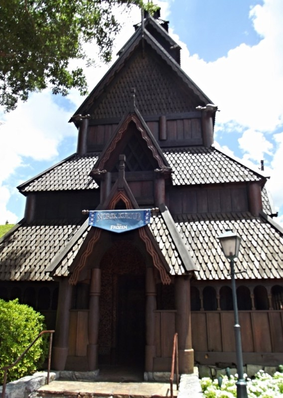 Stave Church in Norway-Picture by Lisa McBride