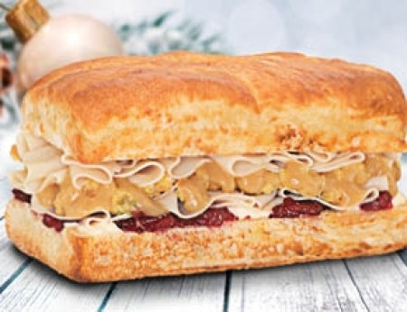 Holiday Turkey Sandwich photo courtesy of Earl of Sandwich website