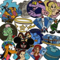 Wave B 2015 Hidden Mickey Pins Coming to Disney Parks This Month!