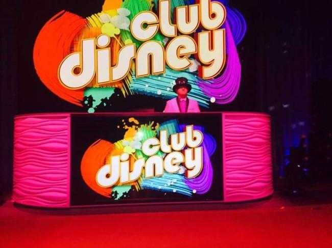 The DJ in Club Disney
