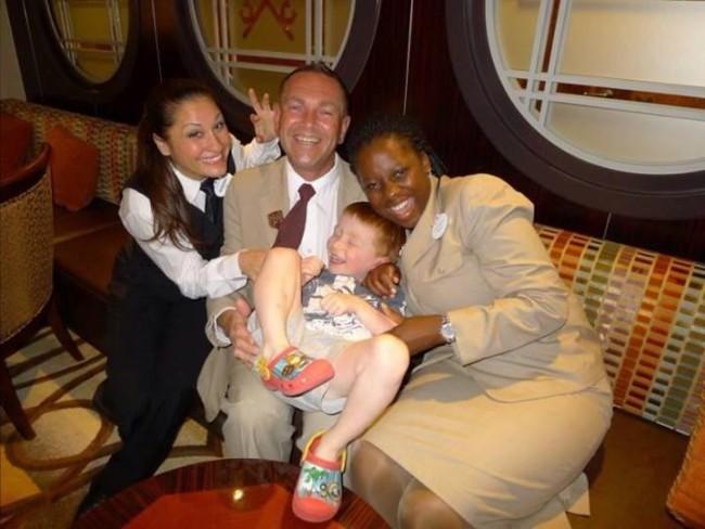 Concierge Team aboard the Disney Fantasy