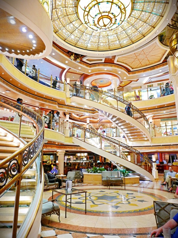 Emerald Princess Atrium 1