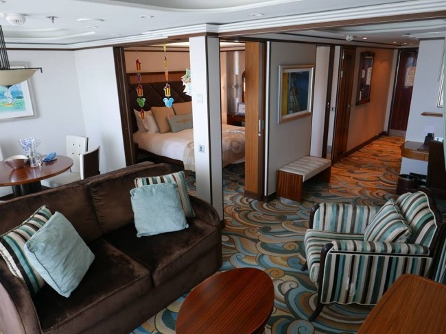 Disney Fantasy one-bedroom suite