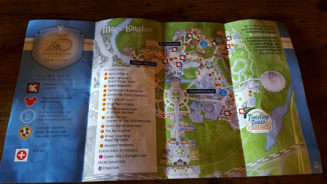 The Attractions for the DVC 25 and Beyond Bash