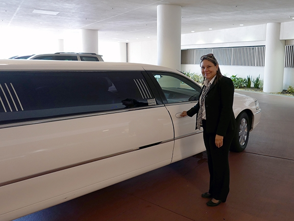 Jackie with Southern Elegance Limousine