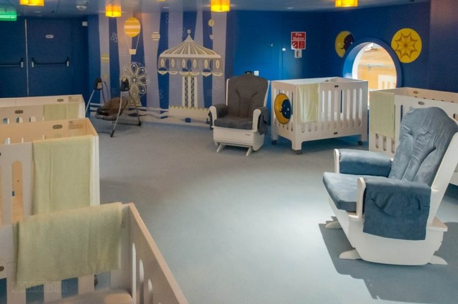 "The Quiet Area of ""it's a small world"" nursery!"