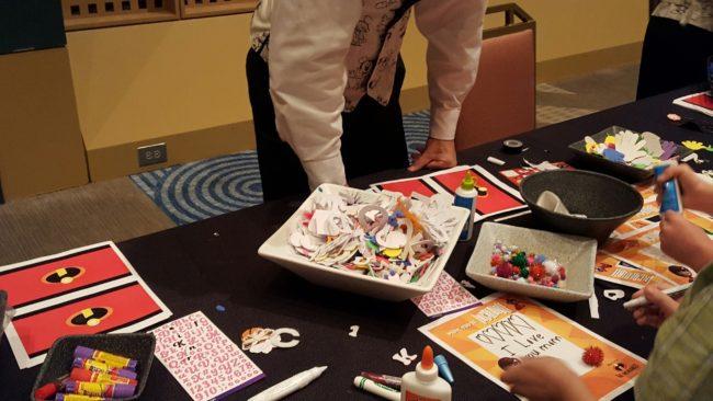 Children's Activites at DVC Mother's Day Brunch