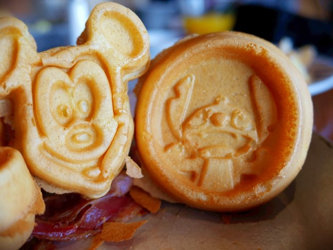 'Ohana Mickey and Stitch Waffles