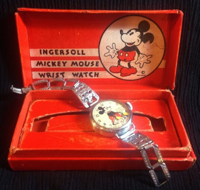 1933 Watch - Image by Mickey Mouse Collectibles