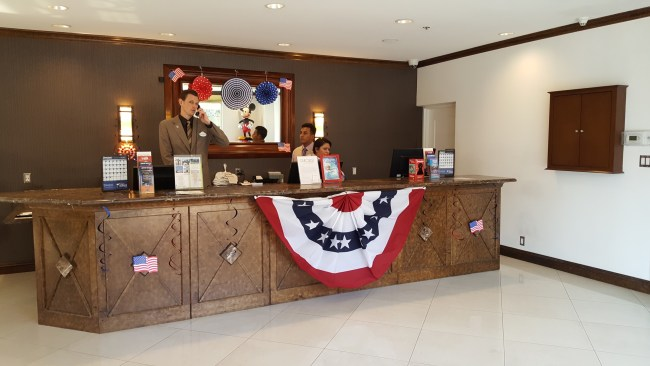 Front Desk (Photo by Renee Virata)