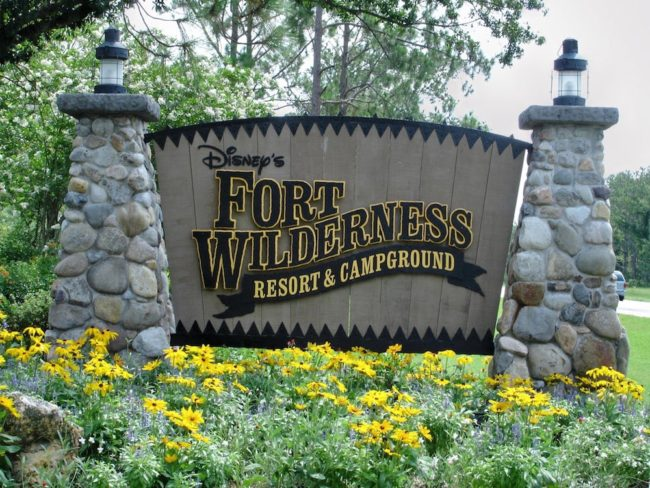 Fort. Wilderness sign