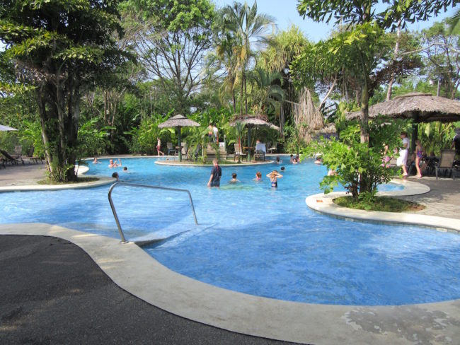 Pool at Laguna Lodge