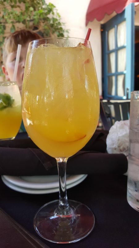 Hollywood Brown Derby Lounge Pineapple No-Jito