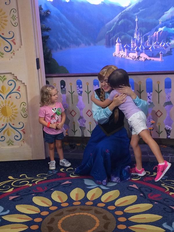 warm hug to the Princess