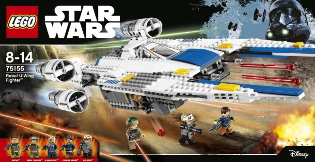 """LEGO U-wing """"Rogue One: A Star Wars Story"""" merchandise. Photo by LEGO."""