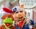 Kermit & Miss Piggy in Liberty Square