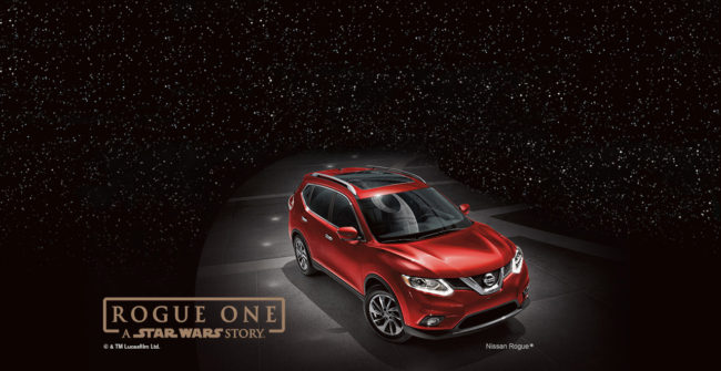 Nissan Rogue One promotion featuring the Nissan Rogue. Photo by Nissan