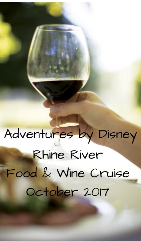 food and wine river cruise