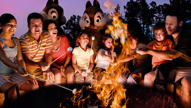 Chip 'N Dale Campfire Sing-A-Long-Photo Credit Disney