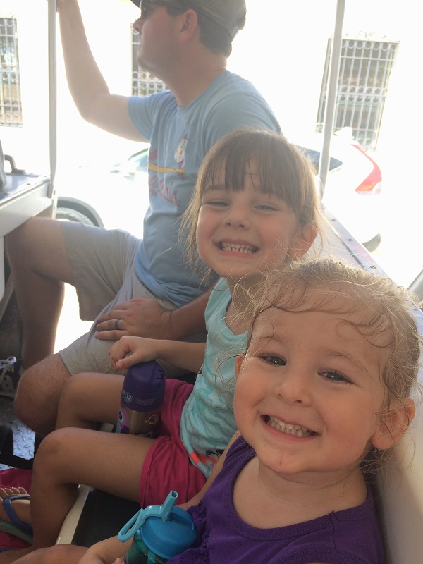Trolley Ride in St. Augustine, Florida