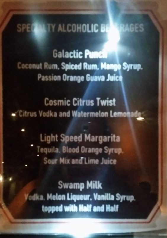 Star Wars Dessert Party Bar Menu